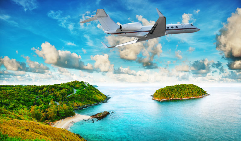 Bookinf-private-jet-for-vacation-DWC