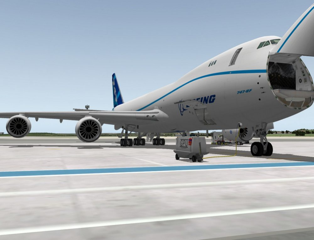 B747-800F AIRCRAFT DESIGN