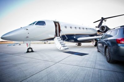 Book your first private jet flight with DWC